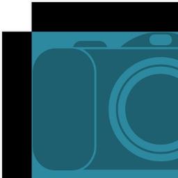 tetenal.themepack:10x8inx20plus5p4mmblack.canvaswrap